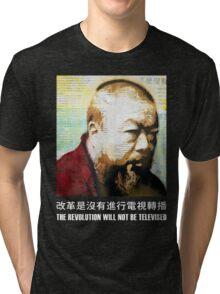 Tribute to Ai Weiwei: 21st Century Revolutionary (Black) Tri-blend T-Shirt
