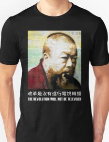 Tribute to Ai Weiwei: 21st Century Revolutionary (Black) Unisex T-Shirt