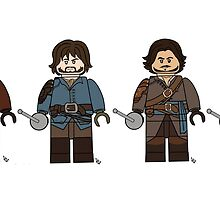 Musketeers by lluviayui