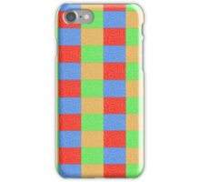 Colorful Patchwork iPhone Case/Skin