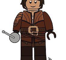D'Artagnan Lego by lluviayui