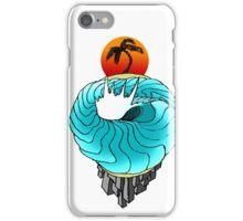 earth wave iPhone Case/Skin