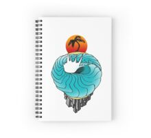 earth wave Spiral Notebook