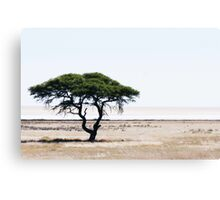 Deserted Tree Canvas Print