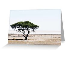 Deserted Tree Greeting Card