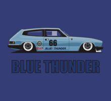 Blue Thunder, Reliant Scimitar Sprint Car by velocitygallery