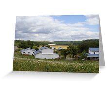 An Amish Community Greeting Card
