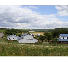 An Amish Community Photographic Print