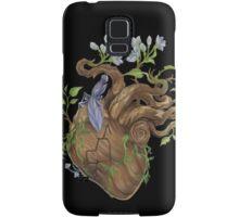 Heart - Wood Samsung Galaxy Case/Skin
