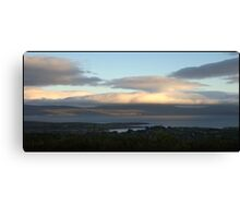 ...and then a whole new peninsula floated by. Canvas Print