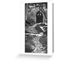 Old Taos Guesthouse Greeting Card