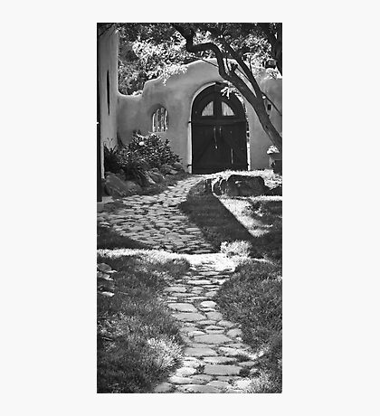 Old Taos Guesthouse Photographic Print