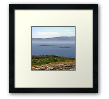 More and Beg Framed Print
