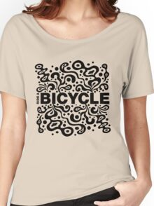 Ride a Bicycle - funky Women's Relaxed Fit T-Shirt