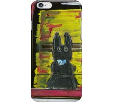 Black Bunny iPhone Case/Skin