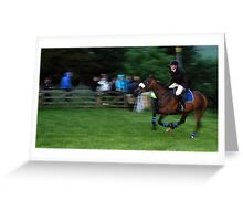 Golf Course Racing Peebles Beltane 2011 Greeting Card