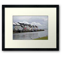 Galway Claddagh Framed Print