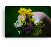 Just For You Canvas Print