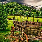 Covered Wagon Tennessee by Scott Lebredo