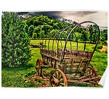 Covered Wagon Tennessee Poster