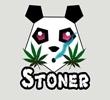 Stoner (pink) Womens Fitted T-Shirt