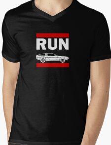 RUN DMC Mens V-Neck T-Shirt