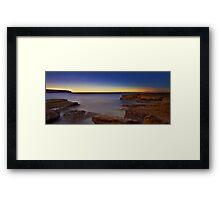 Morning Trails Framed Print