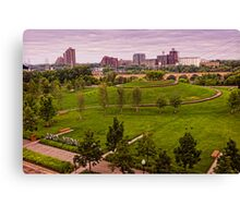 Gold Metal Park in Minneapolis Canvas Print