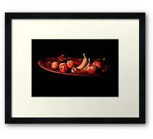 The Fruit Bowl Framed Print