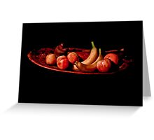 The Fruit Bowl Greeting Card