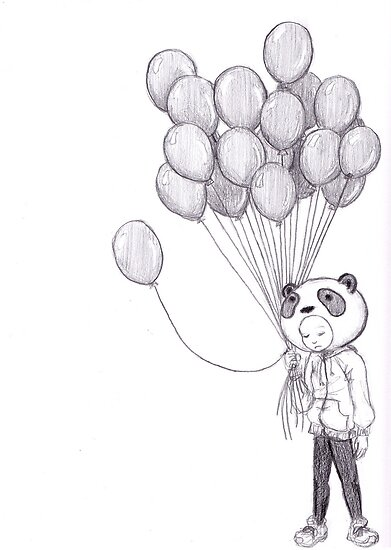 Sad Panda by Krystal Frazee