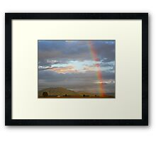 Special Moment Framed Print