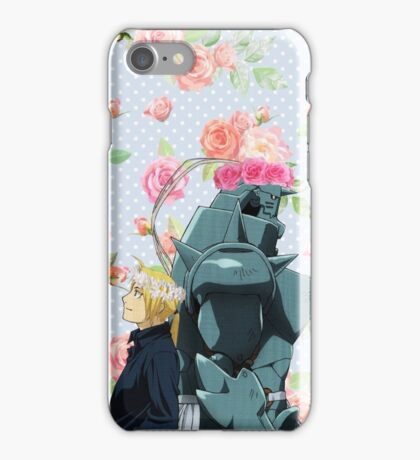 Aesthetic Ed and Al iPhone Case/Skin
