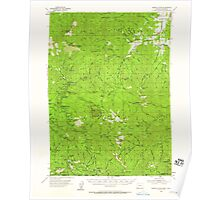 USGS Topo Map Oregon Oregon Caves 282770 1954 62500 Poster