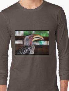 Hornbill says hallo! Long Sleeve T-Shirt