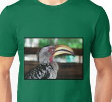 Hornbill says hallo! Unisex T-Shirt