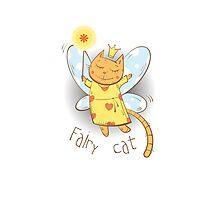 Fairy cat. Photographic Print