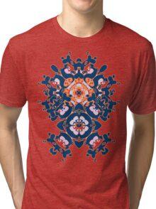 Geometric Gardens Tri-blend T-Shirt