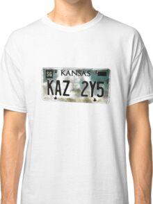 Supernatural Impala Kansas Plate Classic T-Shirt