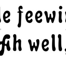 Wittle Feewings Sticker