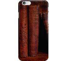 Old Red Books iPhone Case/Skin