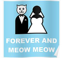 Married to a cat Poster