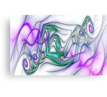 PONG Swirls Metal Print