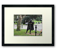 Darth Fiddler Framed Print
