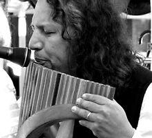 Flautist by Janie. D
