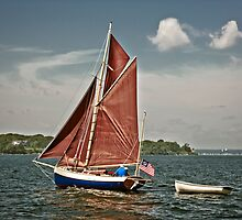 Sailing by Eric Lindquist