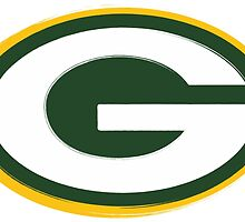 Packers Logo Weathered by KeithSwo