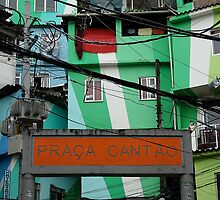 Favela entrance, Brazil by Maggie Hegarty