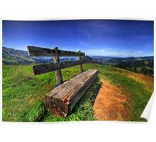 Bregenzer Wald Panorama Summer Poster