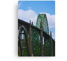 Newport Bridge Canvas Print